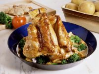 Braised Veal Shanks with Cream Sauce recipe