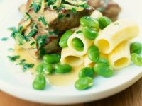 Braised Veal with Pasta recipe