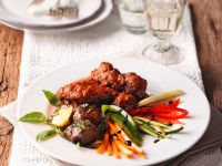 Braised Veal with Vegetables recipe