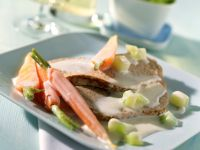 Braised Veal with Vegetables and Cream Sauce recipe