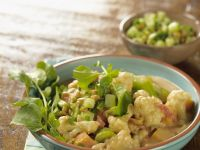 Brassica Casserole with Peppery Leaf