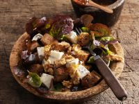 Bread and Cheese Salad recipe