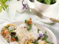 Bread Dumplings with Mushroom Sauce recipe