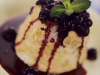 Bread Pudding with Berry Sauce recipe