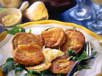 Breaded Eggplant with Garlic Aioli recipe