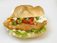 Breaded Pork Sandwiches with Peppers and Remoulade recipe