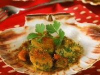 Breaded Scallops recipe