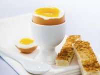 Breakfast Eggs with Toast recipe