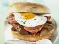 Breakfast Fried Egg Sandwich recipe