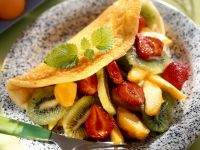 Breakfast Fruit Omelette recipe