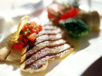Bream with Tomato Salsa recipe