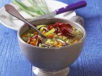 Bresaola and Pearl Barley Potage recipe