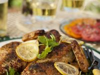 Brined and Roasted Chicken recipe