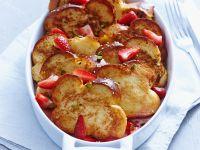 Brioche French Toast with Strawberry Compote recipe