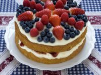 British Sandwich Gateau recipe
