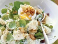 Broad Bean and Potato Salad with Watercress recipe