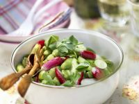 Broad Bean and Radish Salad recipe