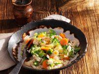 Broccoli and Carrot Rice recipe