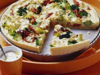 Broccoli and Cheese Quiche recipe