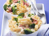 Broccoli and Ham Pasta Bake recipe