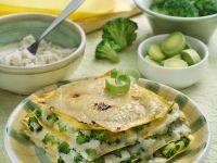 Broccoli and Leek Lasagne recipe
