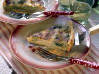 Broccoli Asparagus Quiche