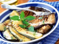Broiled Zucchini and Eggplant recipe