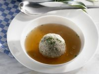 Broth with Liver Dumplings recipe