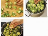 Brussels Sprouts with Almonds recipe