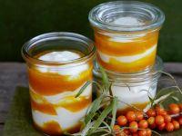 Buckthorn Berry and Yogurt Parfaits recipe