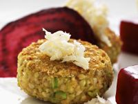 Buckwheat and Courgette Falafel recipe