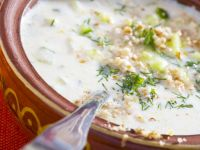 Bulgarian Cold Yogurt and Cucumber Soup recipe