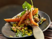Bulgur and Pepper Salad recipe