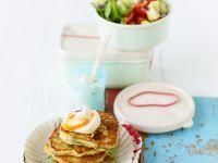 Bulgur Fritters with Harissa Yogurt recipe