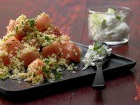 Bulgur Melon Salad recipe