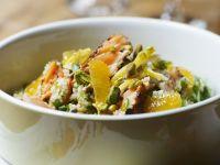 Bulgur Salmon Salad with Oranges recipe