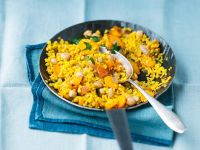 Bulgur with Vegetables and Apricots recipe