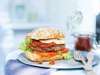 Burger with Onion Relish recipe