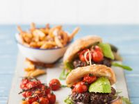Burger with Avocado recipe