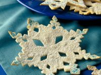 Butter Cookie Snowflakes recipe