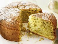 Butter-free Pistachio Cake recipe