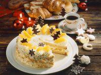 Buttercream Cake with Oranges recipe
