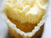 Buttercream Topped Muffins recipe