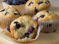 Buttermilk, Honey, and Berry Cakes recipe
