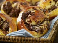Buttery Baked Chocolate Pastries recipe