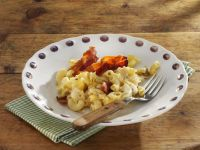 Cabbage and Bacon Baked Mac & Cheese recipe