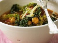 Cabbage and Chickpea Stew recipe