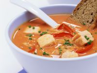 Cabbage and Fish Soup recipe