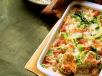 Cabbage Bake with Ground Meat recipe