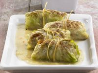 Cabbage Parcels with Mash recipe
